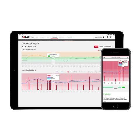KARDIO TERHELÉS az edzés utáni pulzusadatokból számolva használva mutatja az  edzés kardiovaszkuláris terhelését. (TRIMP)