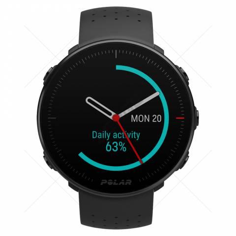 Vantage M Black- Pontos idő- Napi aktivitás 63%-on