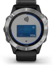 fēnix 6 with Garmin Pay screen