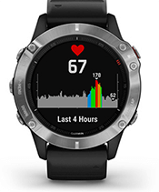 fēnix 6 with heart rate screen