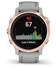 fēnix 6S Pro & Sapphire with heart rate screen
