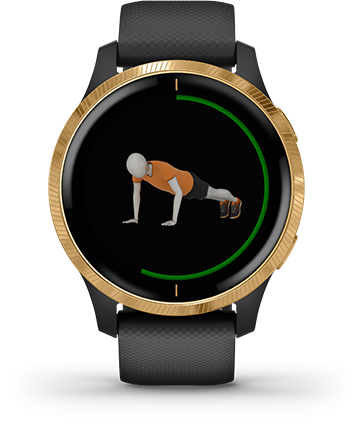 ANIMATED, ON-SCREEN WORKOUTS